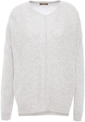 N.Peal Melange Cashmere Sweater