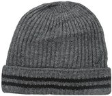 Nautica Men's Ribbed Cuff Hat with Stripes