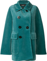 DSQUARED2 anchor button peacoat