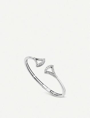 Bvlgari Divas Dream 18ct white-gold and pave diamond bracelet