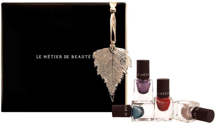 LeMetier de Beaute Le Metier de Beaute Merry Metallics Nail Set