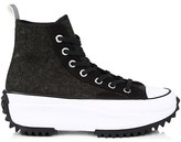 Thumbnail for your product : Converse Run Star Hike High-Top Felt Sneakers