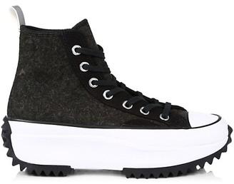 Converse Run Star Hike High-Top Felt Sneakers