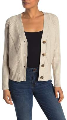 Cyrus Short Crop Knit Cardigan
