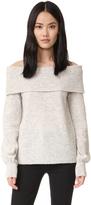 Designers Remix Alta Off Shoulder Sweater