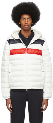Moncler White Down Kourou Jacket