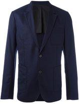 Ami Alexandre Mattiussi half lined 2 button jacket - men - Wool - 52