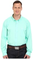 Cinch Long Sleeve Button Down Solid Men's Long Sleeve Button Up