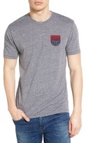Brixton Men's Badge Graphic T-Shirt