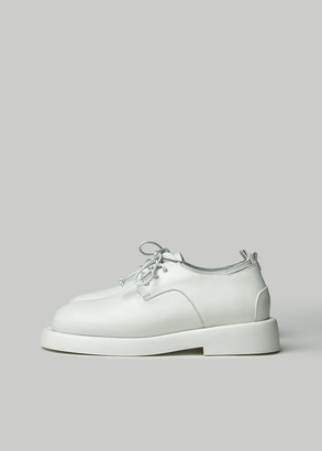 MARSELL Gomme Women's Gomello Derby Shoes in White Size 37 Leather