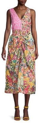 Marni Floral-Print Day Dress