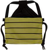 Issey Miyake 132 5. 132 5. Black and Yellow Stripe Bag