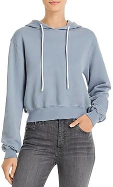 Cotton Citizen Milan Cropped Hooded Sweatshirt