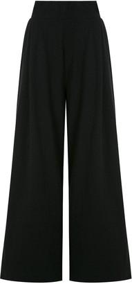 OSKLEN Pleated Wide Leg Trousers