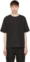 3.1 Phillip Lim Black Poplin T-shirt
