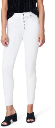Joe's Jeans The Charlie Exposed Button High Waist Ankle Skinny Jeans