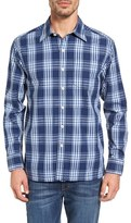 Tommy Bahama Men's Bueno Costa Standard Fit Plaid Sport Shirt