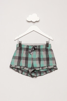 LeTank Plaid Pajama Shorts