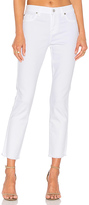 7 For All Mankind Roxanne Ankle Fray