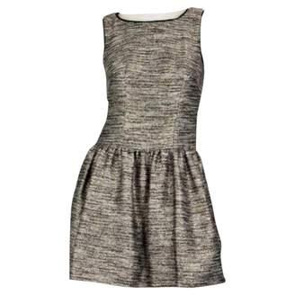 Coast Gold Tweed Dress for Women