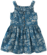 Calvin Klein Denim Flower Dress, Toddler & Little Girls (2T-6X)