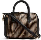 Vera Bradley Uptown Stripes Mini Marlo Leather Crossbody Bag
