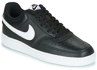 Nike COURT VISION LOW women's Shoes (Trainers) in Black