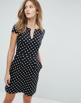 French Connection Dotty Spot Mini Dress