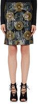 Nina Ricci Women's Eelskin Miniskirt