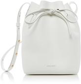 Mansur Gavriel White Blu Mini Bucket Bag