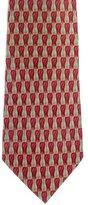 Gucci Silk Geometric Print Tie
