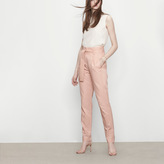 Maje Carrot trousers with belt