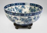 Ethan Allen Hana Blue Bowl