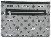 Kokon To Zai monogram print clutch - unisex - Polyester - One Size