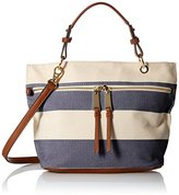 Tommy Hilfiger Camille Rugby Shopper Top Handle Bag