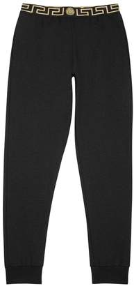 Versace Black Modal Blend Jogging Trousers