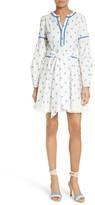 Tanya Taylor Women's Caro Diamond Fil Coupe Dress