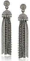 Carolee Gotham Tassel Drop Statement Earrings