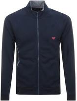 Giorgio Armani Emporio Full Zip Sweatshirt Navy