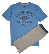 Burton Mens Tokyo Laundry Grey Jersey Shorts*