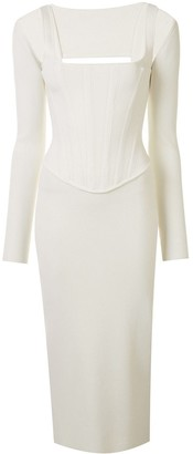 Dion Lee Pointelle Corset Dress