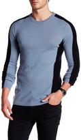 Autumn Cashmere Purl Cashmere Colorblock Sweater