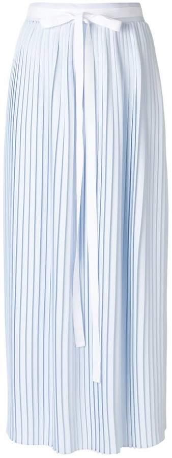 MM6 MAISON MARGIELA pleated maxi skirt