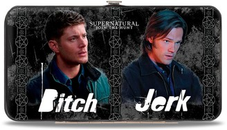 Buckle Down Buckle-Down Buckle-Down Hinge Wallet - Supernatural Accessory