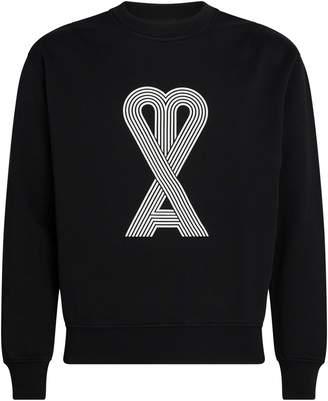 Ami Paris Linear de Coeur Sweatshirt