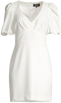 Parker Reilly Puff-Sleeve Mini Dress