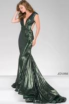 Jovani Sequined Fitted Prom Dress 56969