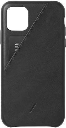 Native Union Clic Card iPhone 11 Case - Black