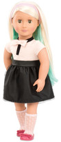 "Our Generation Amya 18"" Doll With Chalk Deco Hair"