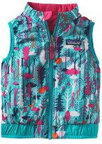 Patagonia 'Puff-Ball' Water Resistant Reversible Vest (Toddler Girls)